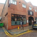 commercial window cleaning - bar in Darlington
