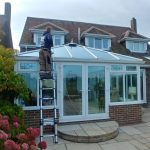durham cleaning conservatory fragile roof