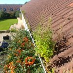 blocked gutters before cleaning near Stockton on tees