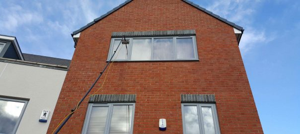 Window Cleaning in Darlington - hard to reach windows